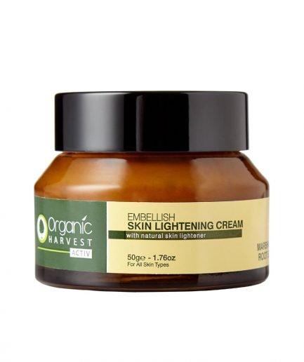 Organic Harvest Activ Range Skin Lightning Cream, 50g
