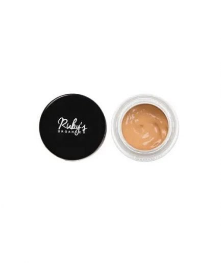 Ruby's Organics Concealer C3 concealer organic shade medium deep skin tones shade colour conceal cosmetics vegan india