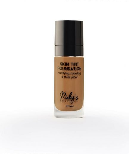 Ruby's Organics Foundation D 03 deep rich skin tone makeup cosmetics india organic