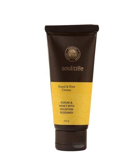 SoulTree Hand & Foot Cream with Kokum, Honey & Mountain Rosemary (100gm)