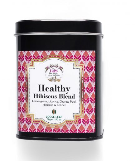 The Herb Boutique - Healthy Hibiscus Blend Tea (50gm)