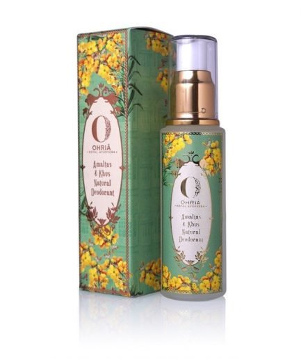 Ohria Amaltas and Khus Natural Deodorant (50ml)