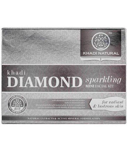 Khadi Diamond Sparkling Mini Facial Kit