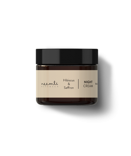Neemli Hibiscus and Saffron Night Cream