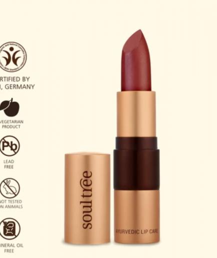 LIPSTICK COCOA RICH 906 shade makeup lips organic cosmetics