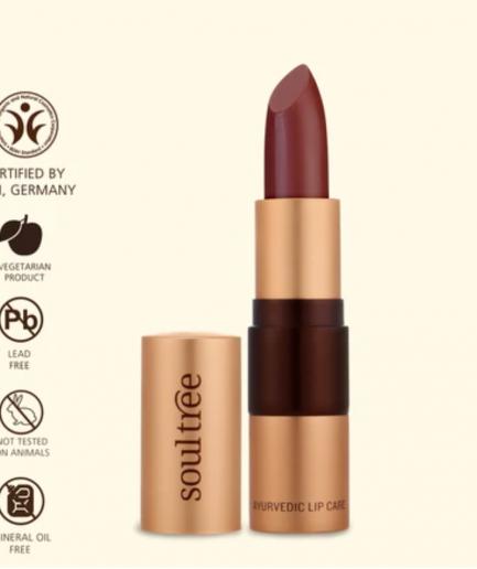 Soultree Lipstick Java Brown 810 shade organic colour
