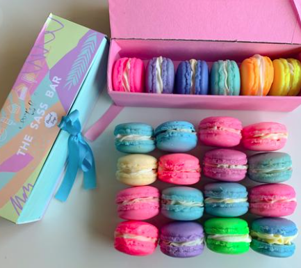 The Saas Bar Macaron Soap Box (Set of 6)