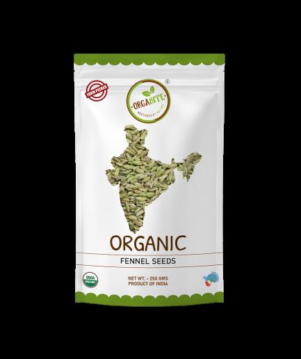 ORGABITE Organic Fennel Seeds