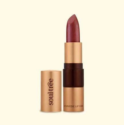 Soultree Lipstick Glistening Loam shade colour makeup vegan makeup organic