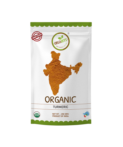 ORGABITE Organic Turmeric Powder
