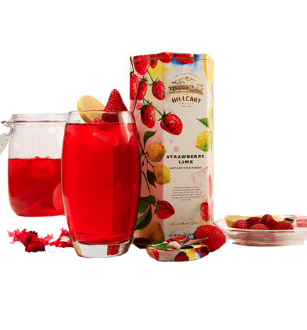 The Hillcart Tales Strawberry Lime Tea
