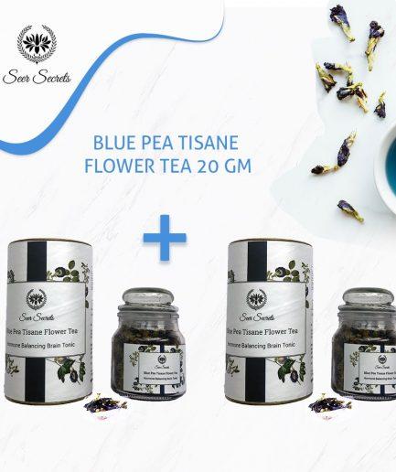 Seer Secrets TEA COMBO Blue Pea Tisane Flower Tea