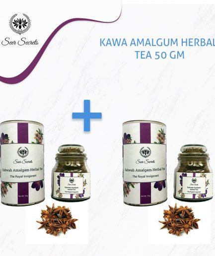 Seer Secrets TEA COMBO Kahwa Amalgum Herbal Tea