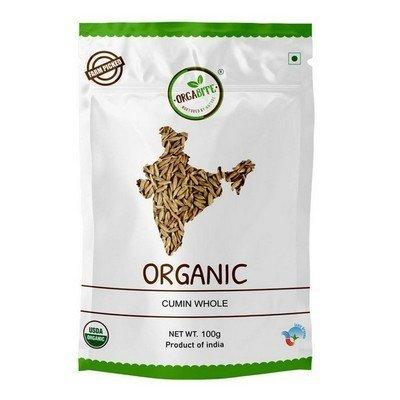 ORGABITE Organic Cumin Whole (100gm)