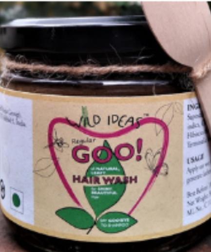 "Wild Ideas ""Regular Goo!"" All Natural Shampoo (300ml)"