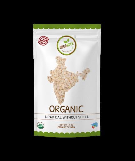 ORGABITE Organic Urad Dal Dhuli (without Shell)