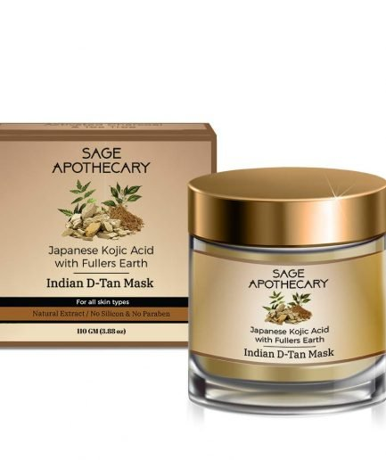 Sage Apothecary Indian D-tan Mask Japanese Kojic Acid (100ml)